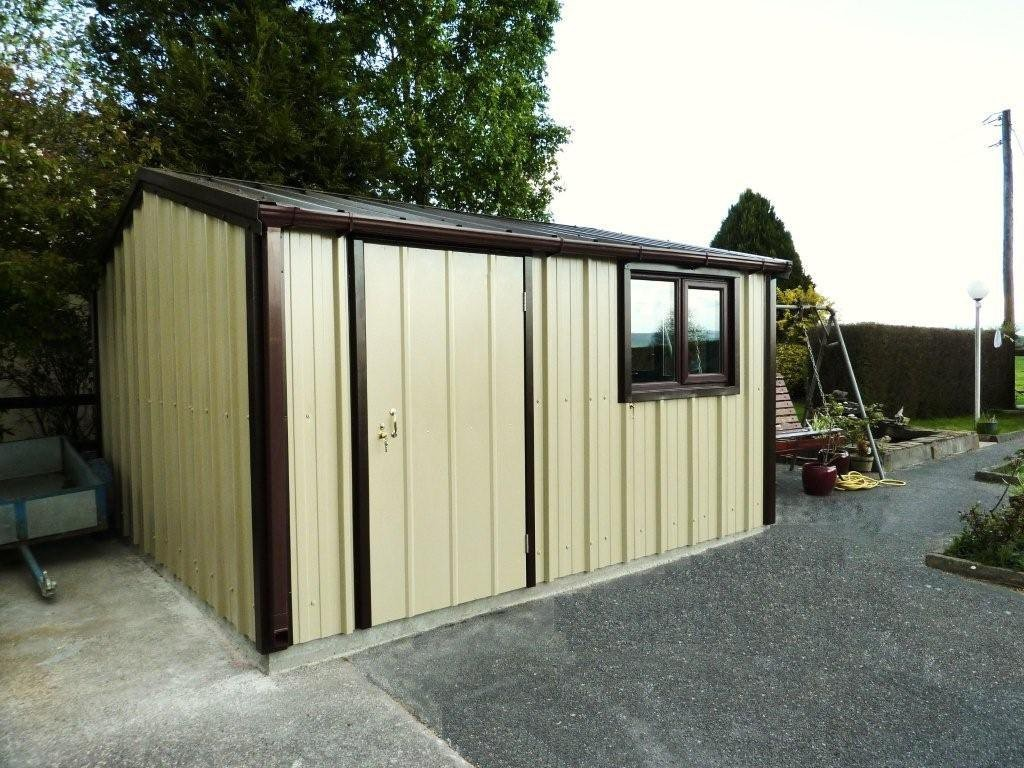 Insulated Steel Sheds